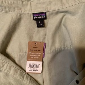 Patagonia Button-Down Shirt, Cotton/Hemp blend